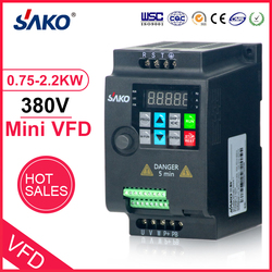 SAKO SKI780 380V 0.75KW/1.5KW/2.2KW Mini VFD Variable Frequency Inverter für Motor Speed Control Konverter