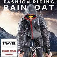 Poncho Raincoat Rain Coat Hood Emergency Waterproof Unisex Polyester +TPU BLACK Cover Camping Hiking Outdoor Sport Cloak Mantle