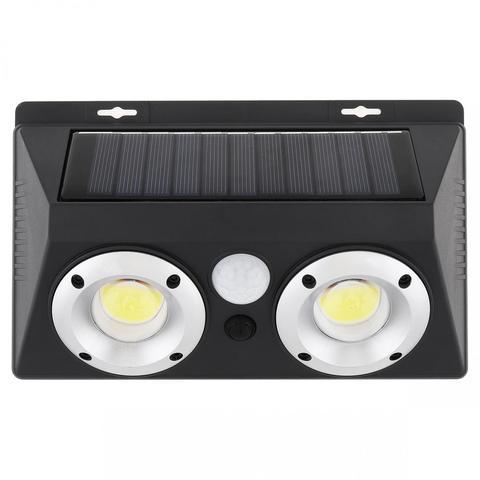 dupla led recarregavel energia solar pir sensor