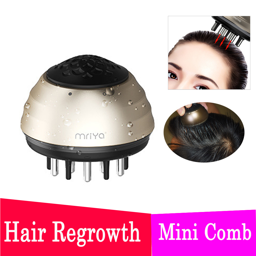 1 Pcs Hair Comb Electric Portable Ion Hair Straightener Negative Ion Comb Anti-static Massage Mini Straight Hair Massage Comb