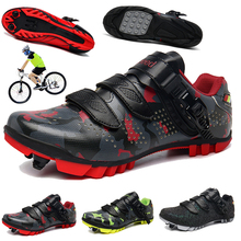 Men Women Cycling Shoes Professional Sneakers Male Outdoor Multi-function Road Mountain