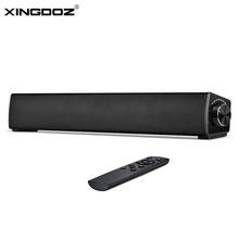 Soundbar,  Contracted type Audio Speaker for TV, 17 Inch Wired & Wireless Bluetooth 4.2 Stereo Soundbar for PC
