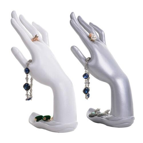 Jewelry Display Mannequin Hand Jewellery Glove Ring Bracelet Display Show Stand Rack Holder Earrings/Bracelet/Necklace Display R