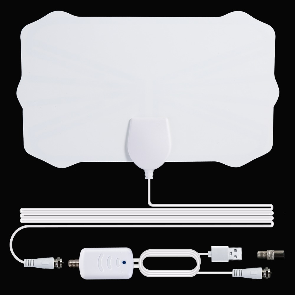 2020 New Indoor Digital HDTV Antenna TV 900 Miles Radius Amplifier DVB-T2 Isdb-tb Clear Satellite Dish Signal Receiver Aerial