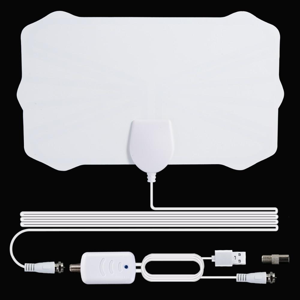 2020 New Indoor Digital HDTV Antenna TV 900 Miles Radius Amplifier DVB-T2 Isdb-tb Clear Satellite Dish Signal Receiver Aerial