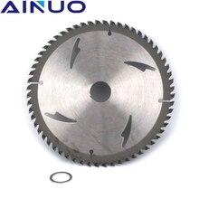 """7 """"180 mm Carbide Tipped Saw Blade Cutting Disc Metal Wood Fiberboard Plank Materials Cutter 40T 60T"""