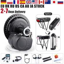 DIY электрический велосипед 48 в 500 Вт 36 В 350 Вт 250 Вт Tongsheng tsdz2 комплект для преобразования двигателя среднего привода велосипедный датчик крутя...