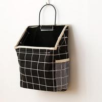 Настенный подвесной для хранения сумка держатель для телефона книга сумка большой емкости Органайзер с крюком прочный подвесной органайзе...