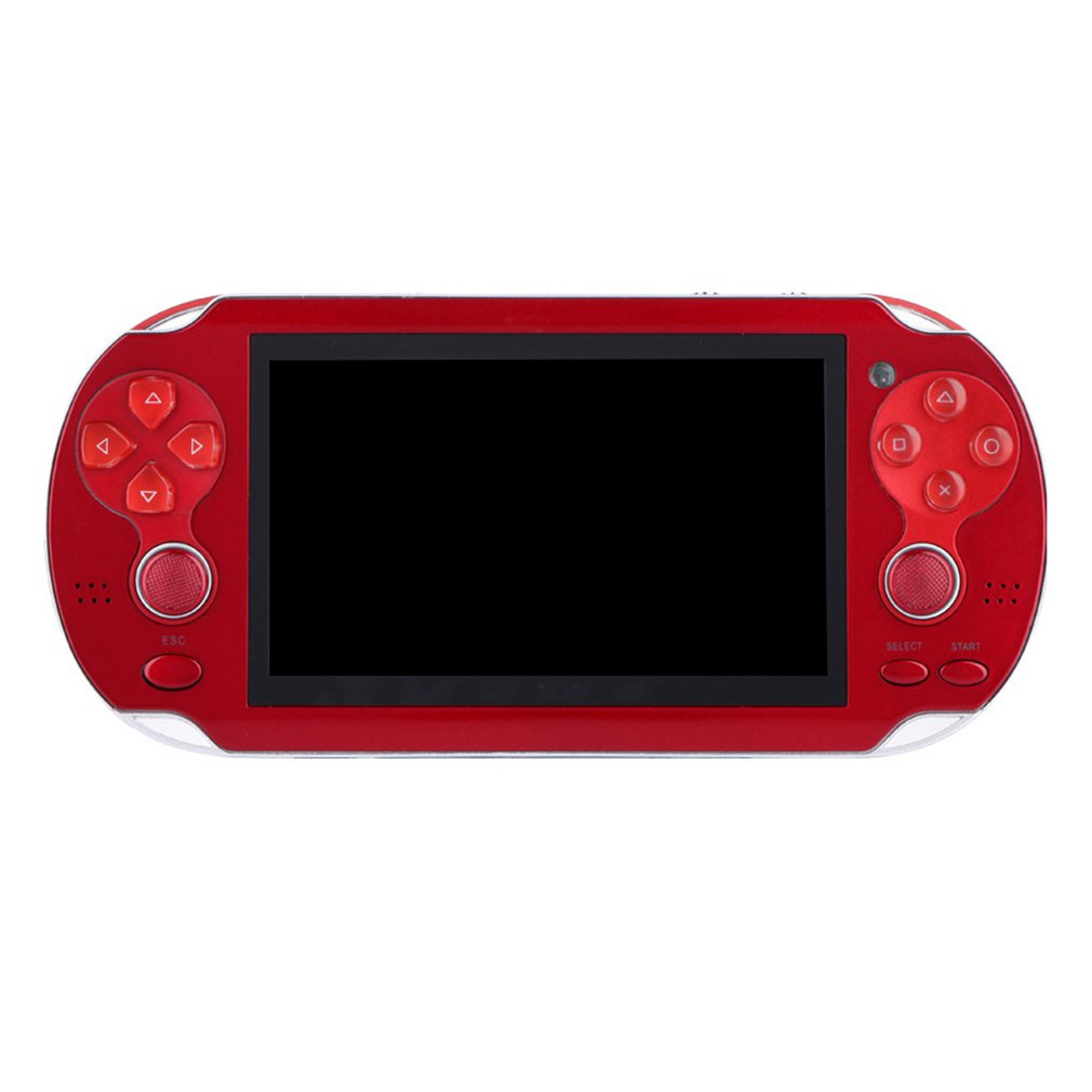 Video Game Console Player X6 for PSP Game Handheld Retro Game 4.3 inch Screen Mp4 Player Game Player Support Camera,Video,E-book