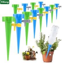 36/24/12 pces sistema de irrigação por gotejamento automático dripper spike kits jardim planta casa flor ferramentas waterer automático
