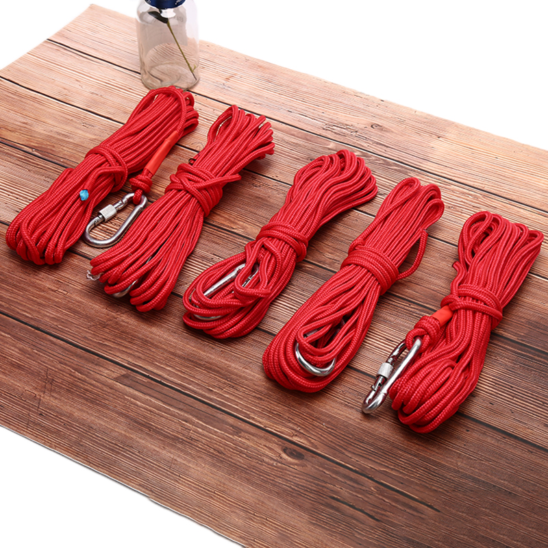 New 10M Red Fishing Magnets Rope Strong Search Magnets Fishing Pot Fishing Magnet Rope
