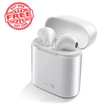 i7s TWS Wireless Headphones беспроводные наушники Earphone гарнитура Bluetooth with чехол для наушников redmi airdots