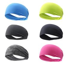 Breathable Sports Headband Men Women Unisex Yoga Fitness Quick Drying Elastic Hair Sweat Band for Outdoor Running Cycling