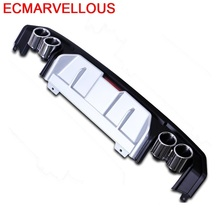 Rear Diffuser tuning Car Front Lip Exterior Styling Modification Modified Decorative Bumpers protector 16 17 18