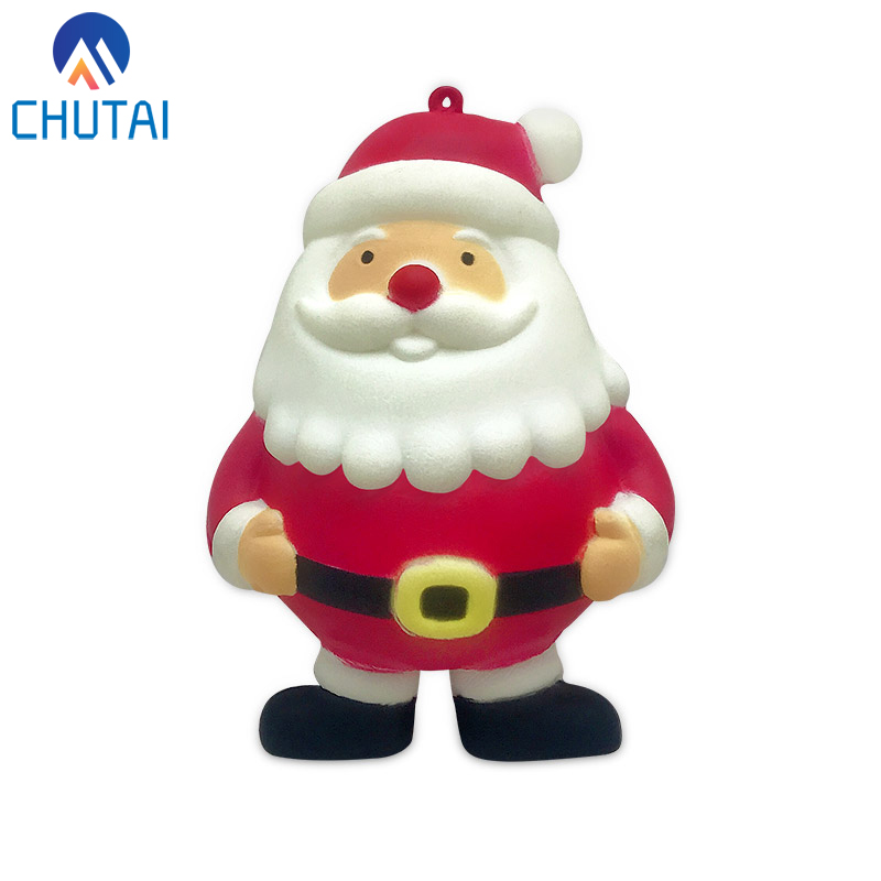 Kawaii Santa Claus Squishy Slow Rising Squeeze Toys For Kids Baby Grownups Decompression Toys 10*7 CM