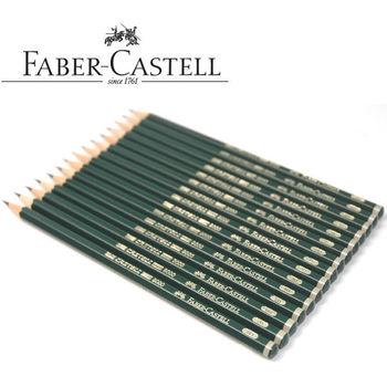 Faber Castell 9000 grafito lápiz de dibujo y dibujo 12 Uds 6H 5H 4H 3H 2H F HB B 2B... 3B... 4B... 5B... 6B, 7B, 8B suministro de arte