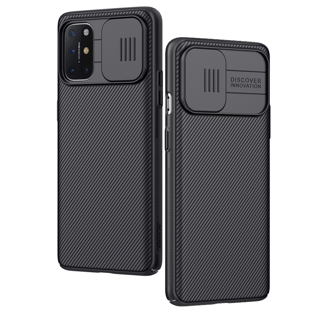 Top Sale For OnePlus 8T Case Slide Camera Cover Protect Privacy Back Cover Nillkin