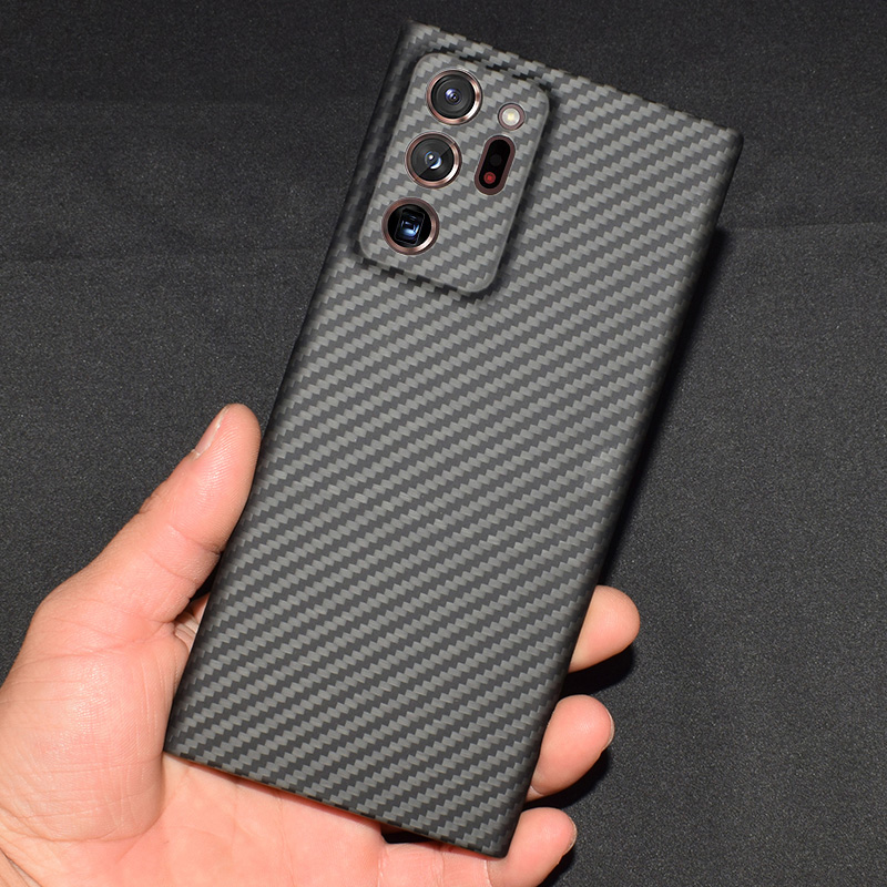 Carbon fiber Case Cover FOR SAMSUNG GALAXY Note 10 plus ,Note 20 Ultra ,S10 PLUS ,NOTE 9 Ultra-thin Business