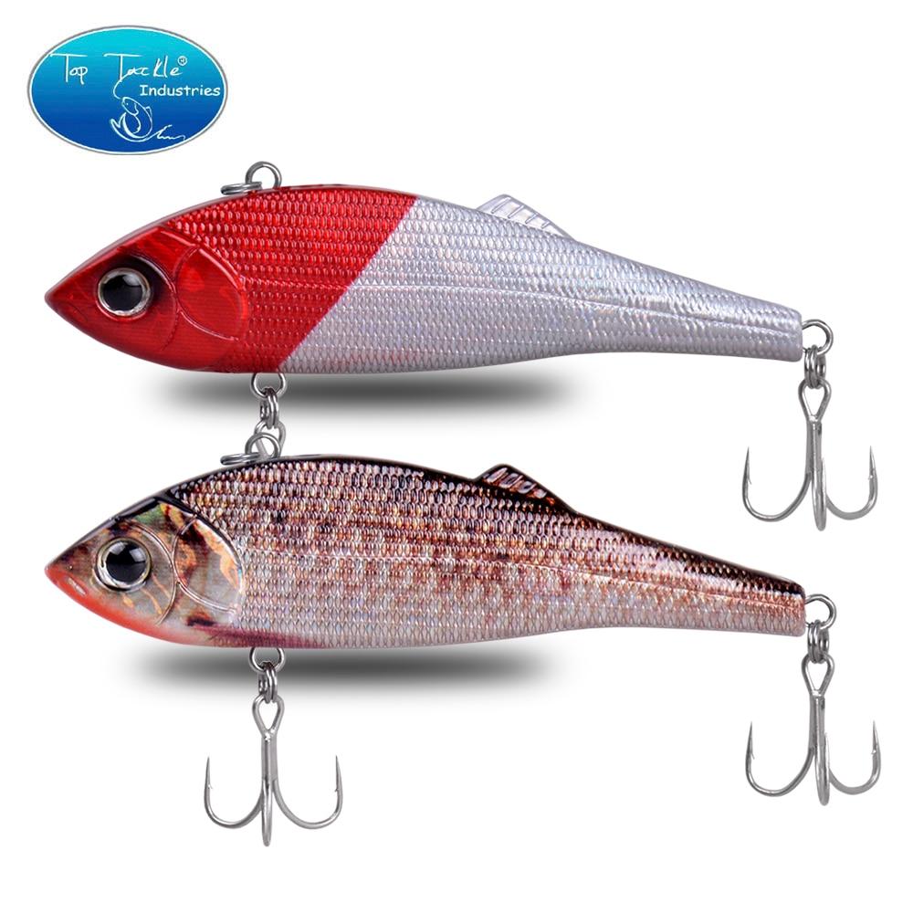 CFLURE 1Pc 95mm 40g VIB Bait  Jerk Bait Crankbait Bass Fishing Lure With 2 Treble Hooks