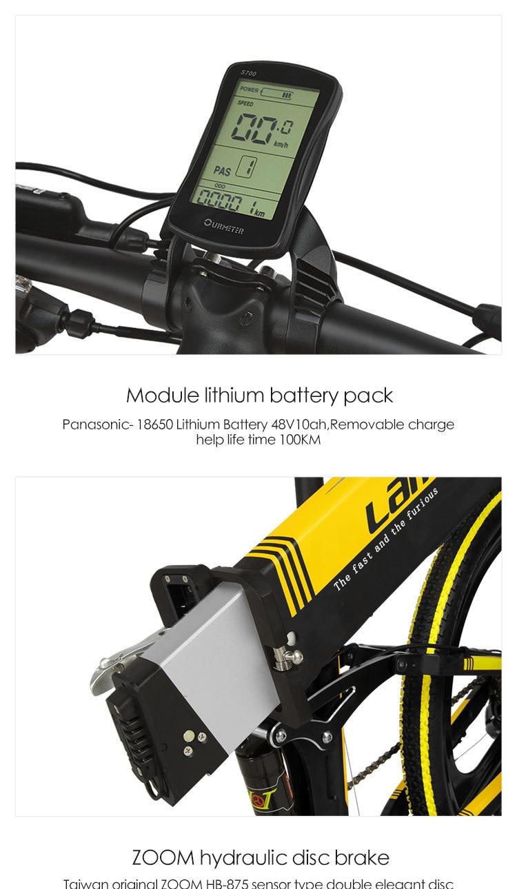 EU Quality XT750Plus 1000W E-bike 26 inch Fat Tire 1000W Electric Bike 1000W Electric Bicycle w 11