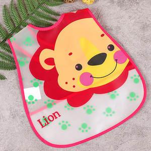 Baby Bibs Feeding-Cloth Boy Waterproof Apron Adjustable Plastic Girl Children Cartoon