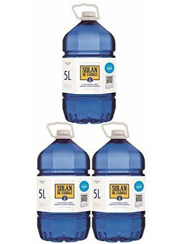 Solan De Cabras - Acqua Minerale Naturale - 3 X 5L
