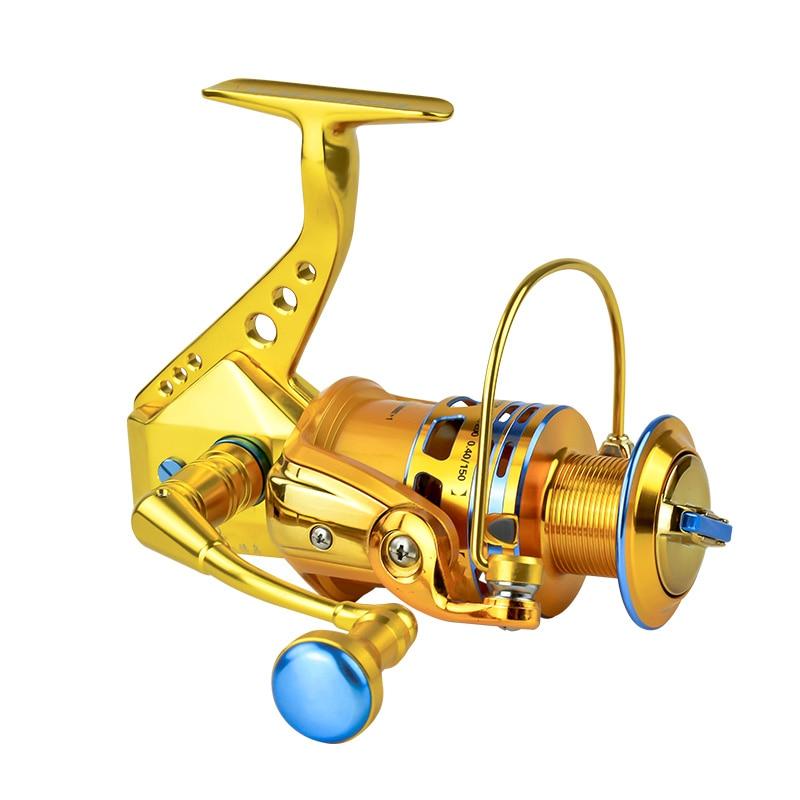 roda girando carretel de pesca da carcaca de isca carretilha de pesca telescopica 15 1 1