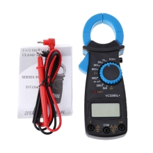 Digital Clamp Multimeter AC/DC Digital Voltage Resistance Current Ohm Clamp Multimeter Electronic Tester Meter ruoshui digital clamp meter multimeter current clamp ac dc voltage current meter auto range capacitance resistance diode tester