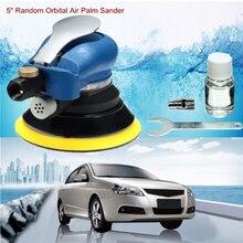 цена на 5 Inch Air Grip Random Orbital Palm Sander 125mm Air Hand Power Tool Polisher Panel