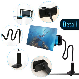 Image 5 - เบ็ดเตล็ดเบรคกิ้ง 8/12 นิ้วแว่นขยาย 3D HD โทรศัพท์มือถือภาพยนตร์วิดีโอหน้าจอเครื่องขยายเสียงแว่นขยาย Expander Stand ผู้ถือ