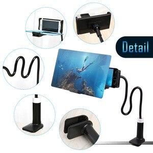 Image 5 - Besegad 8/12inch Scherm Vergrootglas 3D HD Mobiele Telefoon Film Video S Scherm Vouwen Versterker Vergrootglas Expander Stand houder