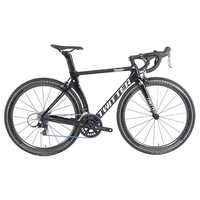 TWITTER 700C bicicleta de carretera de carbono 22 velocidad carretera cuadro de bicicleta de carbono tenedor rueda de carbono