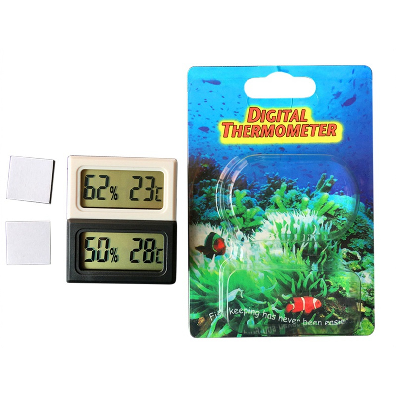 2019 Indoor Outdoor Thermometer, Precision Products Wireless LCD Digital Thermometer Temperature Record Clock