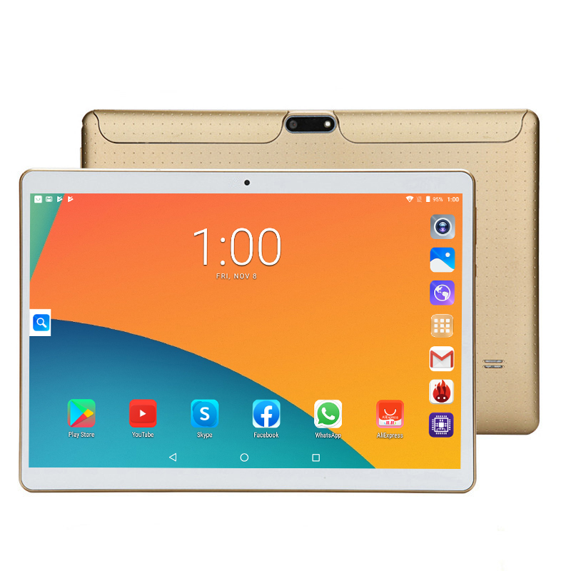 LZWIN T805C 2020 MID PC Global Bluetooth Wifi Phablet Android 7.0 10.1 Inch Tablet MT6580 Core Dual SIM Card Tablet 9 10 CE Band