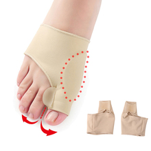 1Pair Big Toe Hallux Valgus Corrector Orthotics Feet Care Bone Thumb Adjuster Correction Pedicure Socks Bunion Straightener