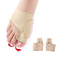 Correcteur dhallux Valgus, 1 paire, pour soins des pieds, orthèses, ajustement des pouces, chaussettes pour pédicure, à lisser