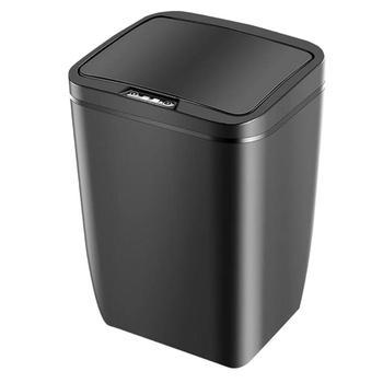 Электрический умный мусорный бак для дома, умный автоматический индукционный мусорный бак, сенсорные контейнеры для мусора мукс мусорная к...