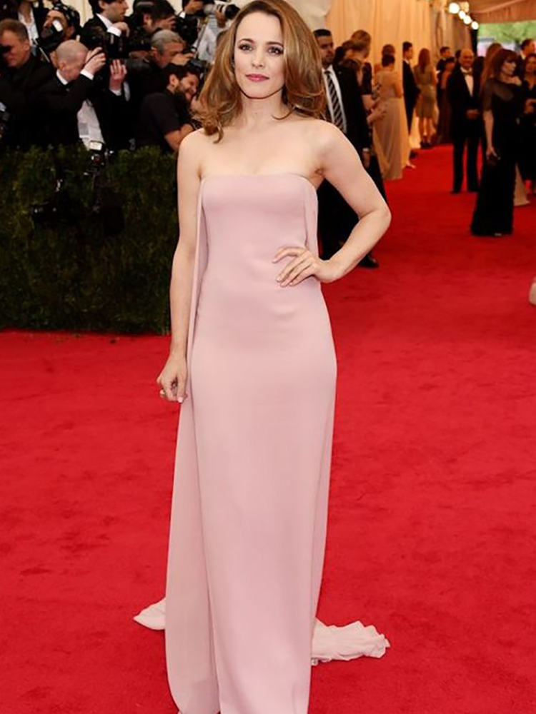 Verngo Simple Evening Dress Pink Chiffon Formal Party Dress Vintage Prom Gown Evening Dresses Long Vestidos Elegantes