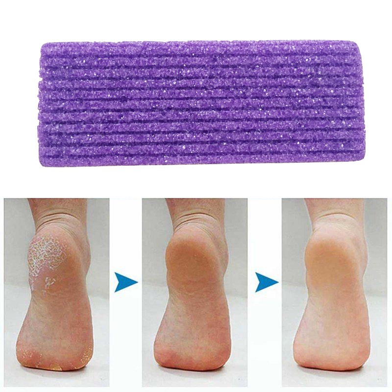 1 Pedicure Foot Care Foot Pumice Stone Pedicure Tools For Foot Callus Exfoliate Hard Skin Remove Pedicure Scrubber Pumice Sponge