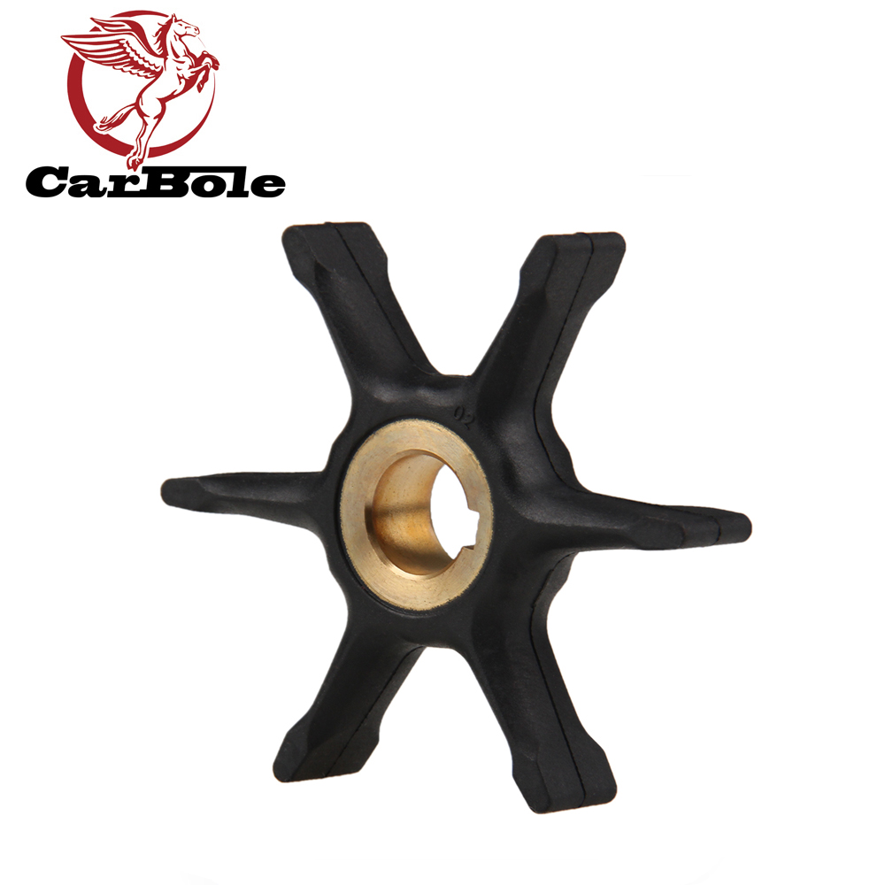 CARBOLE Outboard Motors Water Pump Impeller For Johnson Evinrude IMP1011 9-45215R OMC BRP 375638 389642 775518 18-3002 10HP 15HP