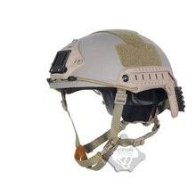 TB-FMA Reserve Carbon Fibre Ballistic airsoft military Helmet Tactical Rapid Response Capacete Of Tb840 Suspension System DE