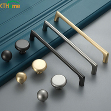 Hole Distance 128 Zinc Alloy Pearl Gray Gold Cabinet Handle Solid Drawer Knobs Kitchen Cupboard Door Pulls Furniture Handle knob modern minimalist door handle silver gray european zinc alloy wall mounted drawer handle cabinet door handle