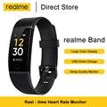 Realme Группа Смарт Браслет большой Цвет Дисплей монитор сердечного ритма напоминание о воде функция напоминания о сидячем положении IP68 рейти...