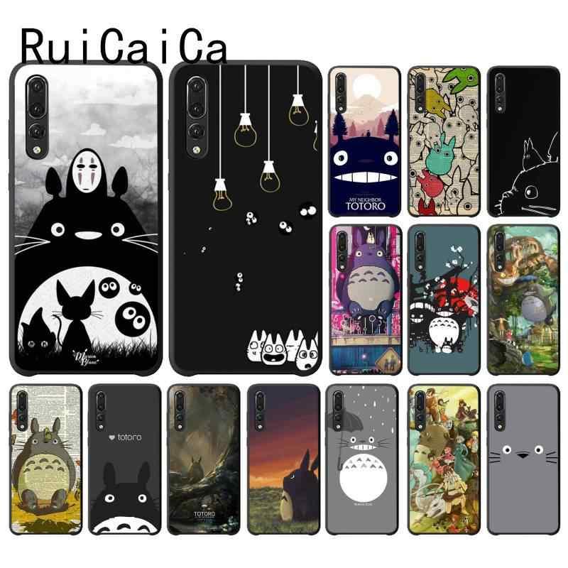 Ruicaicaかわいい漫画ハッピートトロカスタム写真ソフトphonecase huawei社NOVA3I 3E 4 4E 5 5IプロY5 プライムy6 peime 2018 Y5 2019