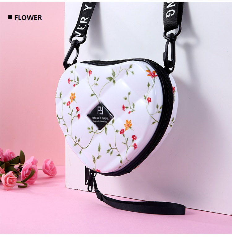 H490ea80ca1774011bcf119d191e8ee34k - Fashion Luxury HandBags Heart Shaped PVC Mini Shoulder Bag for Woman Fashion Designer Personality Small Box Women Purses