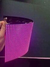 P2 P2.5 P3 P4 linh hoạt bảng LED MODULE tròn đường cong sáng tạo bất quy tắc hình Màn hình LED hiển thị đèn LED Video treo tường