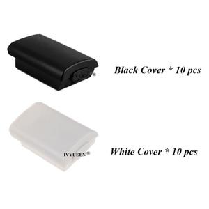 Image 5 - Ivyueen 20 xbox 360 ワイヤレスコントローラー単三電池ケースホワイトバッテリーパックカバーの交換ハウジングシェル