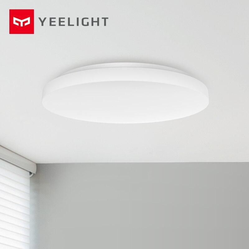 2019 최신 Yeelight YLXD58YL 420 LED 천장 조명 라운드 다이닝 룸 현대 미니멀리스트 발코니 침실 조명기구|스마트 리모콘| - AliExpress