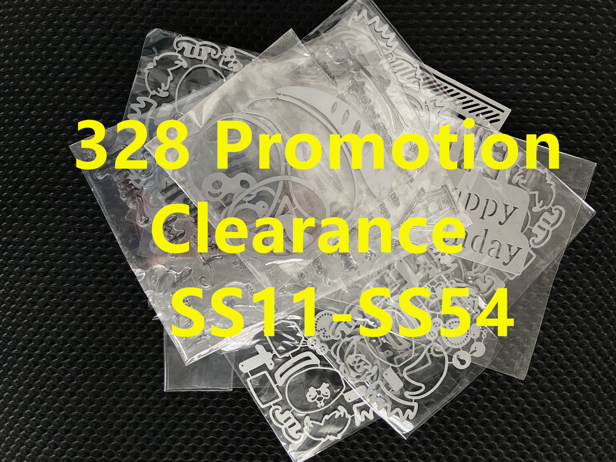 328 Promotion Clearance Cutting Dies SS11-S 54