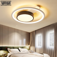 Modern LED ceiling Lights home hanging light fixture bedroom lamps for living room Smart remote control lamp